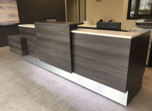 CDVI Reception Desk by AMJ Campbell