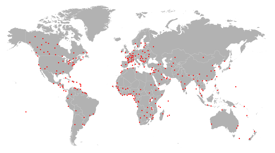 AMJ Campbell Global Service Locations