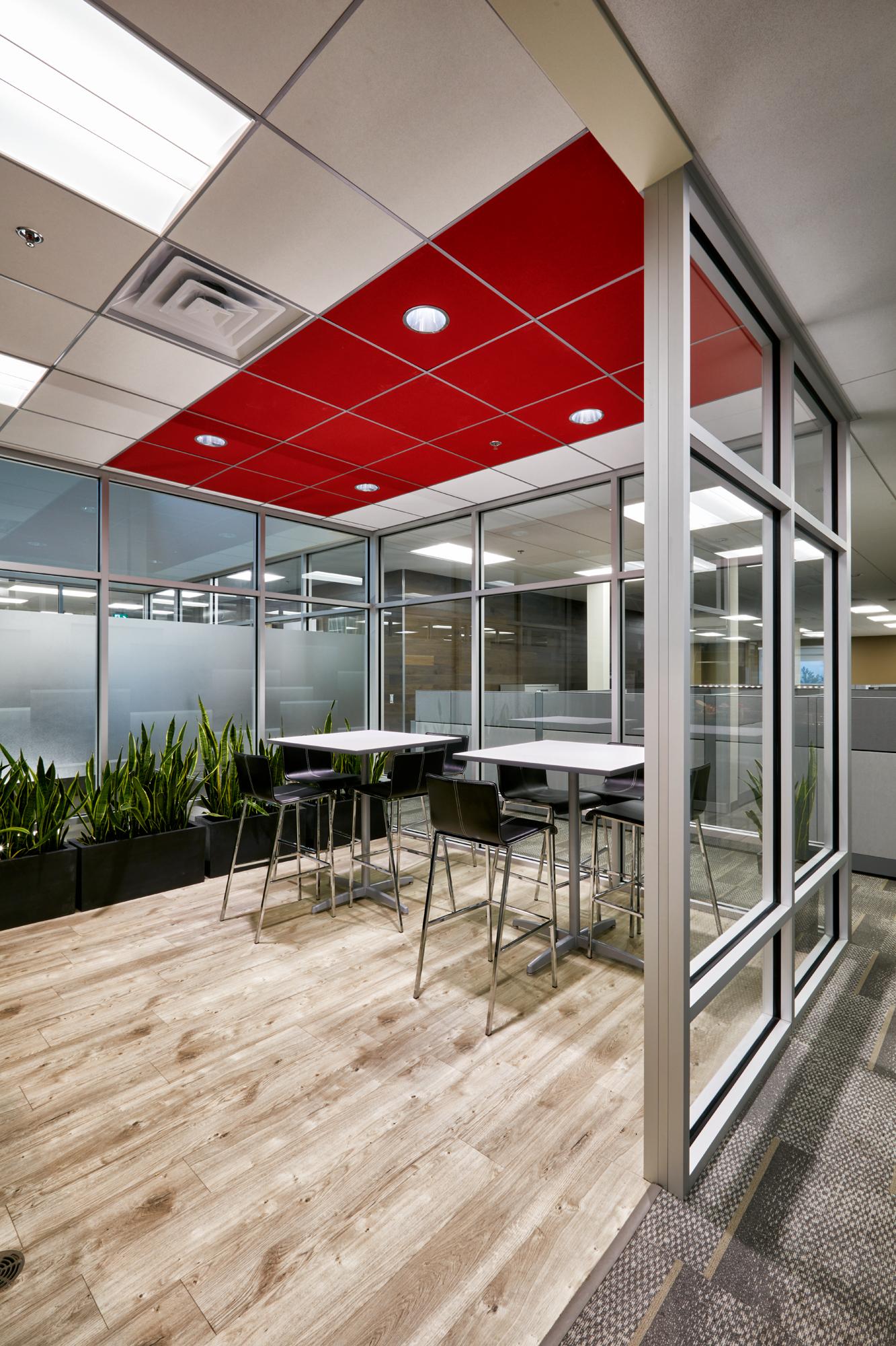 Office ceiling tile