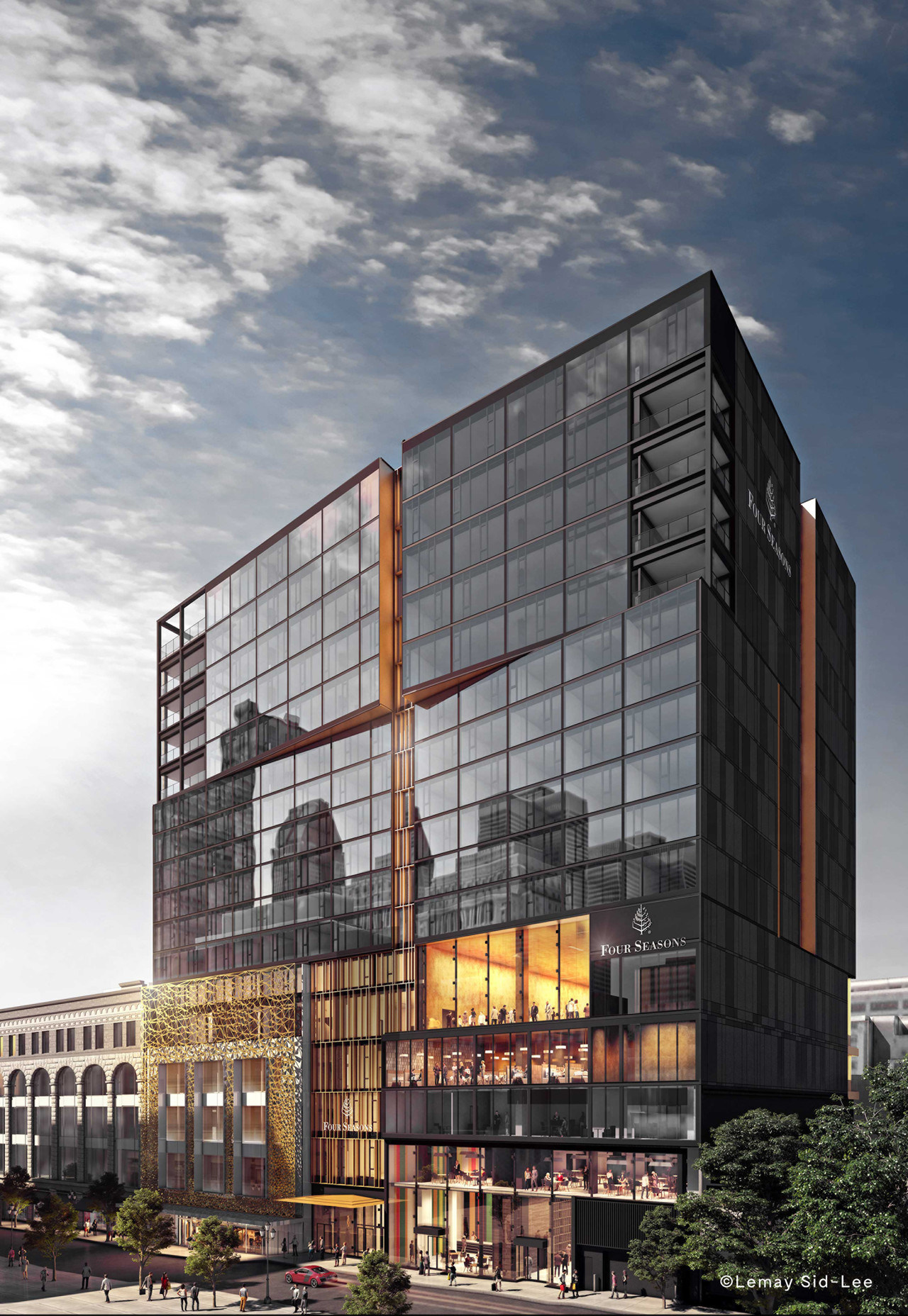 Montreal's new Four Seasons Hotel to open this spring