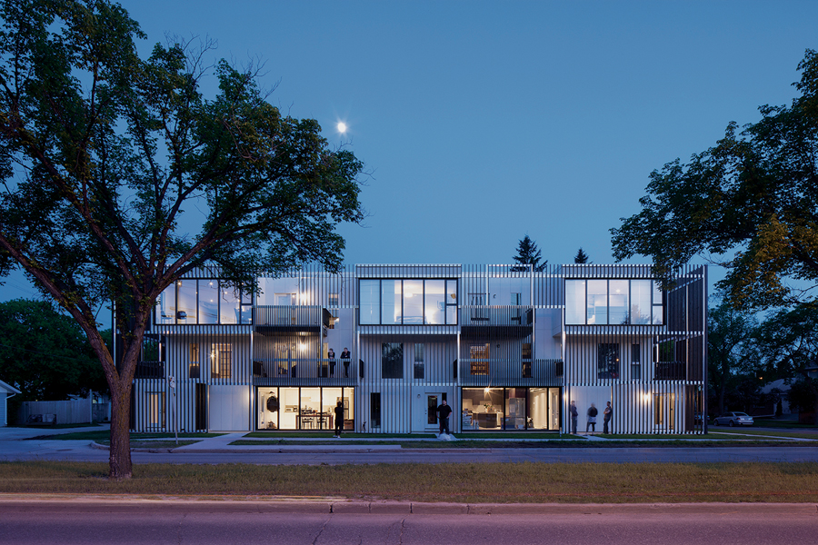 The Bloc_10 housing development won an Award of Excellence for innovation. Its creators, Winnipeg-based 5468796 Architecture, also garnered this year's Emerging Practice Award.  James Brittain