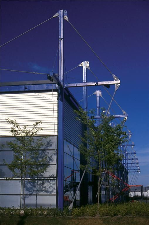 The Ebco Aerospace Centre was an early collaboration with Paul Fast. Perkins+Will