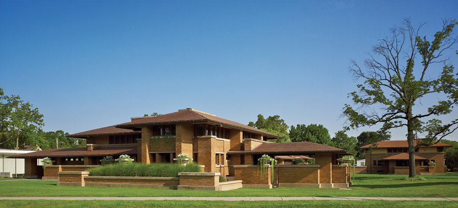 Frank Lloyd Wright's Martin House Complex is one of several Buffalo projects recently restored with the aid of tax incentives from multiple levels of government. Biff Henrich/IMG_INK