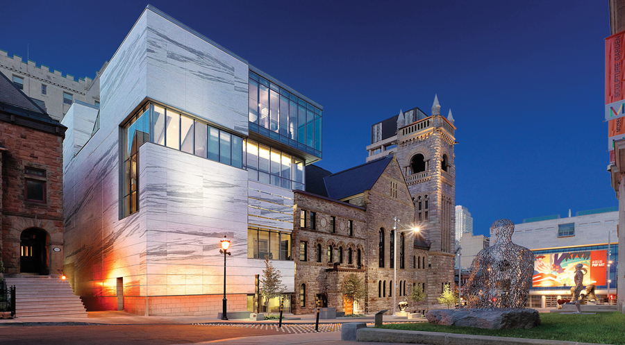 montreal museum of fine arts addition by provencher_roy
