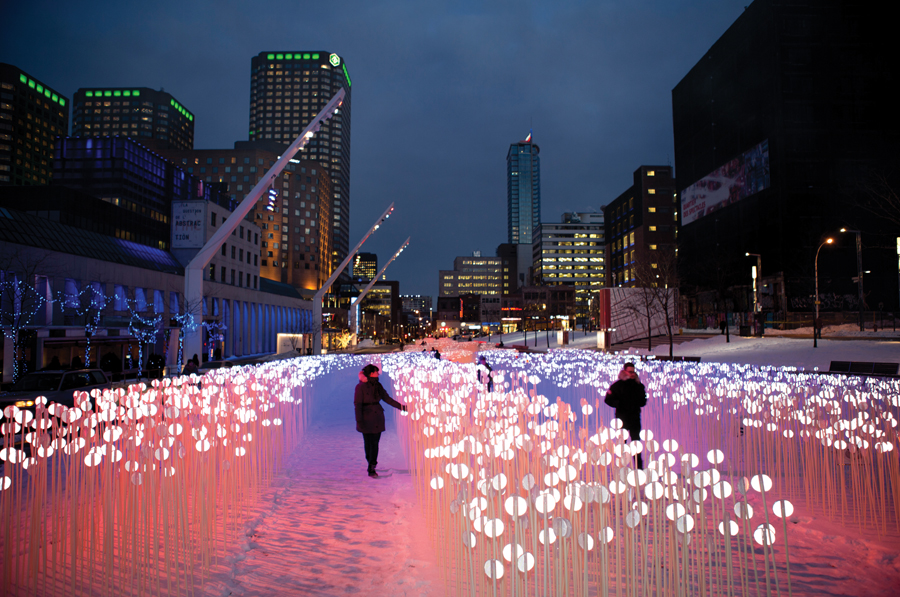 entre les rangs by kanva at montreal's place des festivals