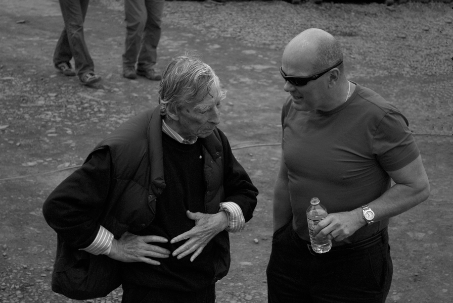 An informal discussion with architect Keith Graham at a Ghost event. Photo by Cherish Rosas