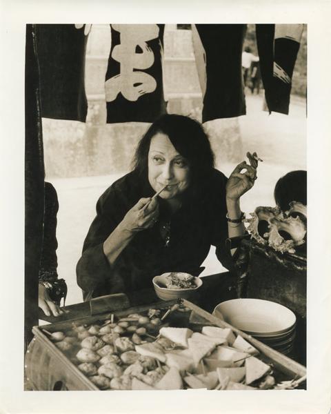 Lina Bo Bardi in Kamakura, Japan in 1978.