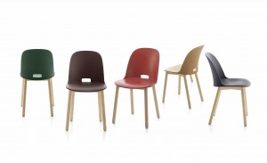 2 Emeco Alfi Chairs colors - low res