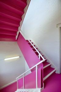3 Brock U. Stairwell in Fine and Performing Arts School