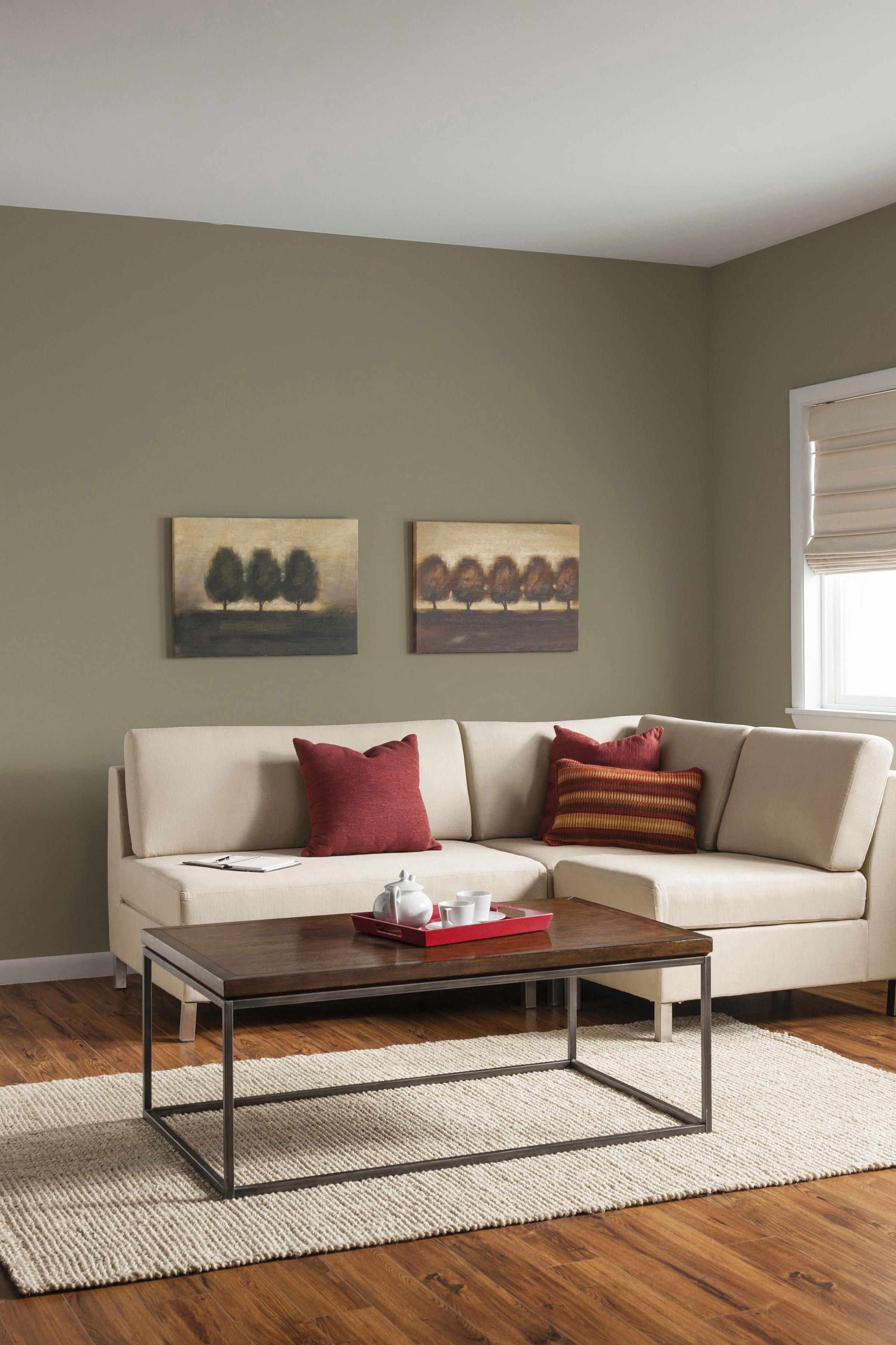 Warm safe colours trending for 2016 for Couleur peinture interieur