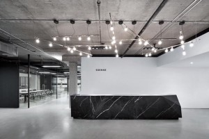CORPORATE SPACE LARGE Project: Ssense, Montreal, Canada Firm: Humà design + architecture, Montreal, Canada