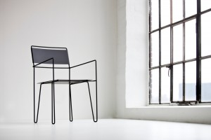 Chair No 1 -- standard powder-coated finish