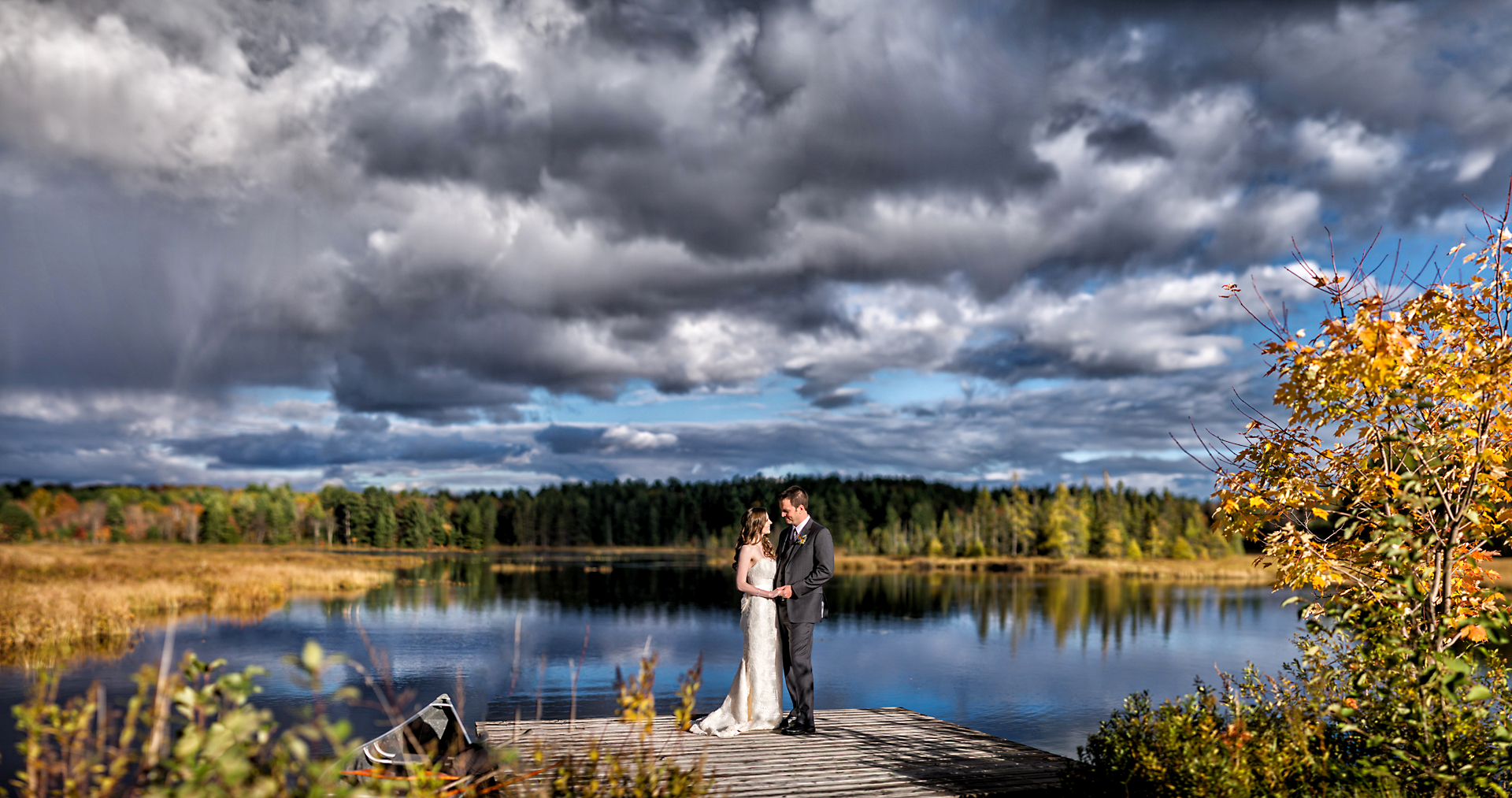 Nathan & Linda | Brooksfield Farms Wedding | Muskoka Wedding Photography01