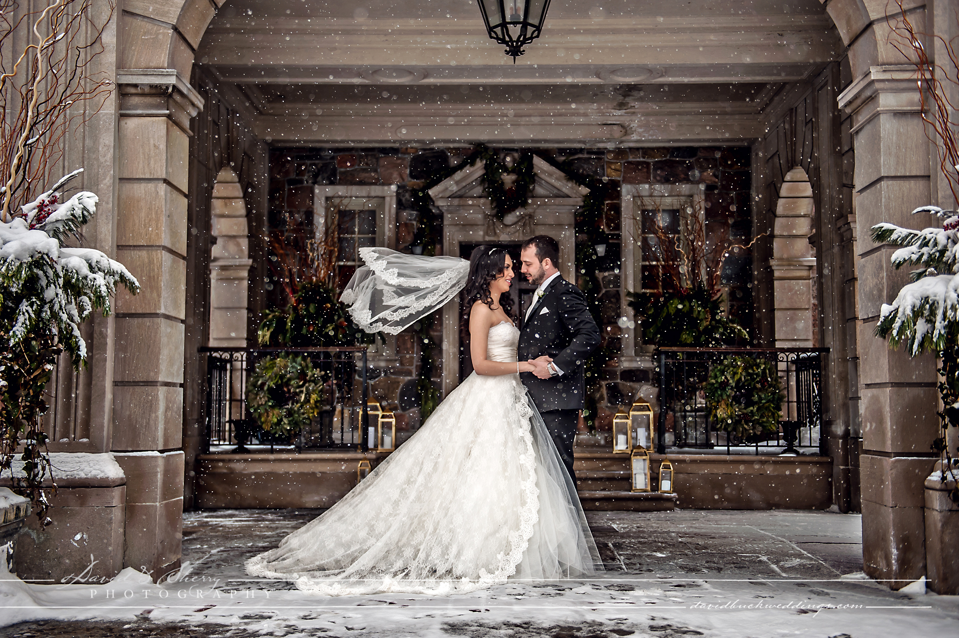 Graydon Hall Winter Wedding