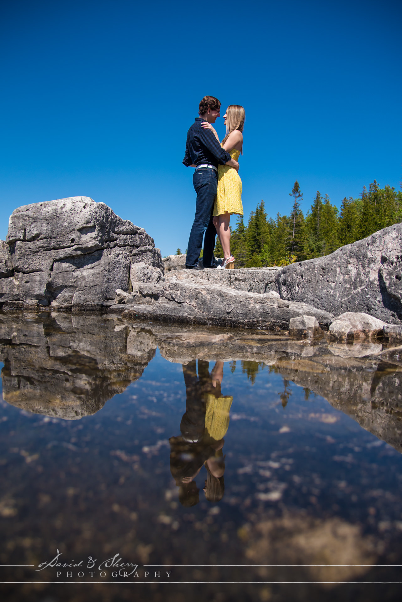 Grotto and Cyprus Lake Engagement Photos05