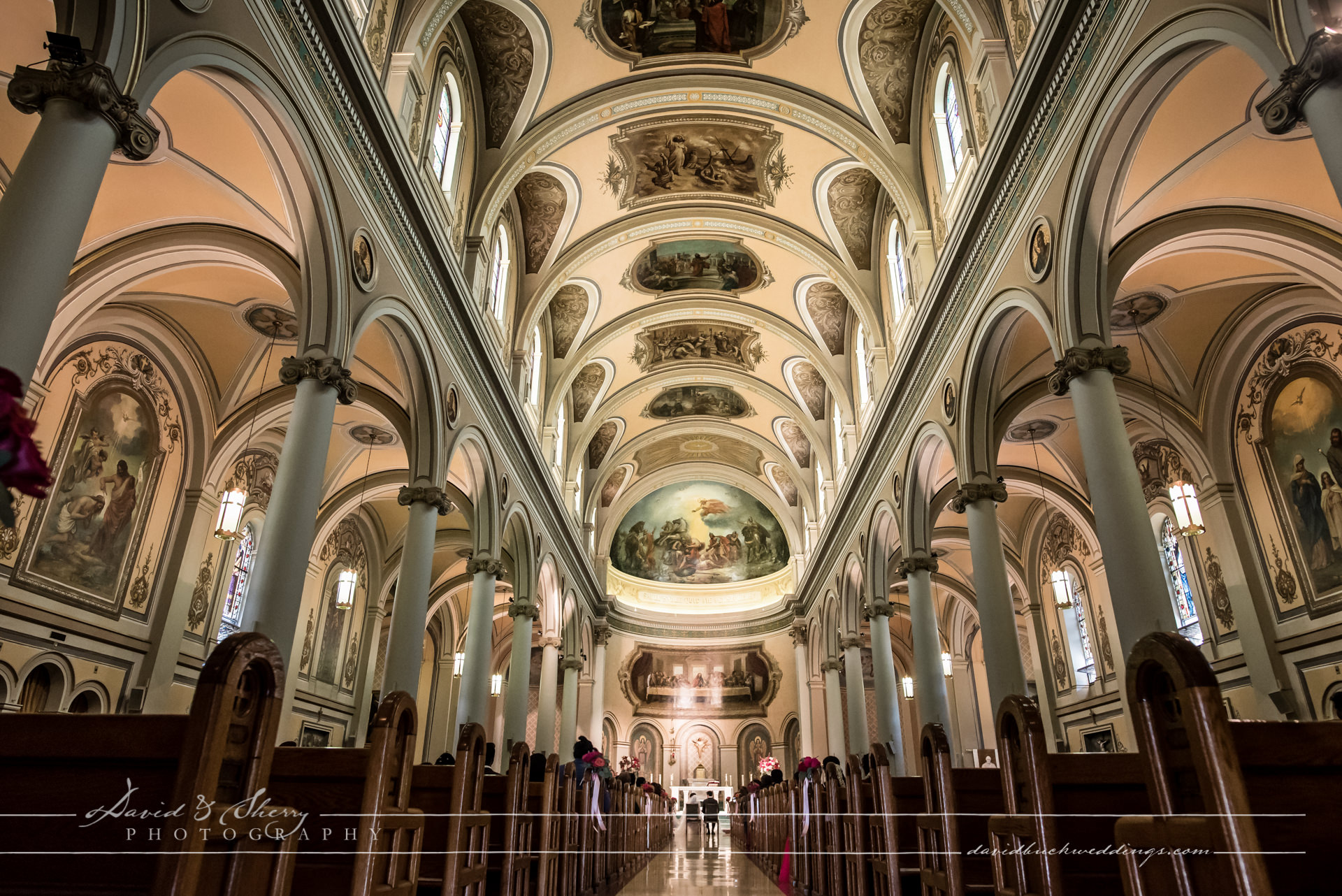 St. Paul's Basilica Toronto Wedding Photo