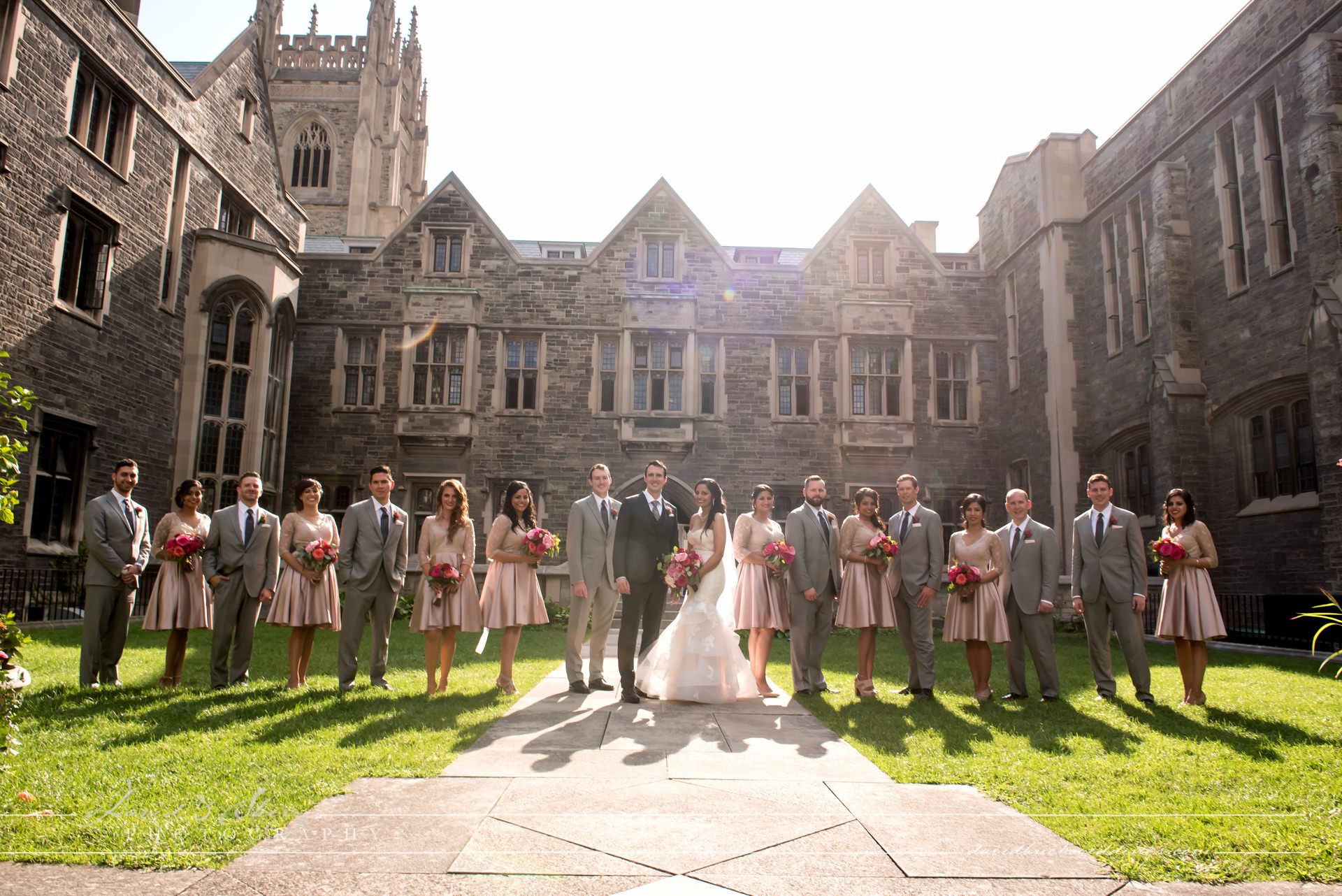 Knox College Wedding Party