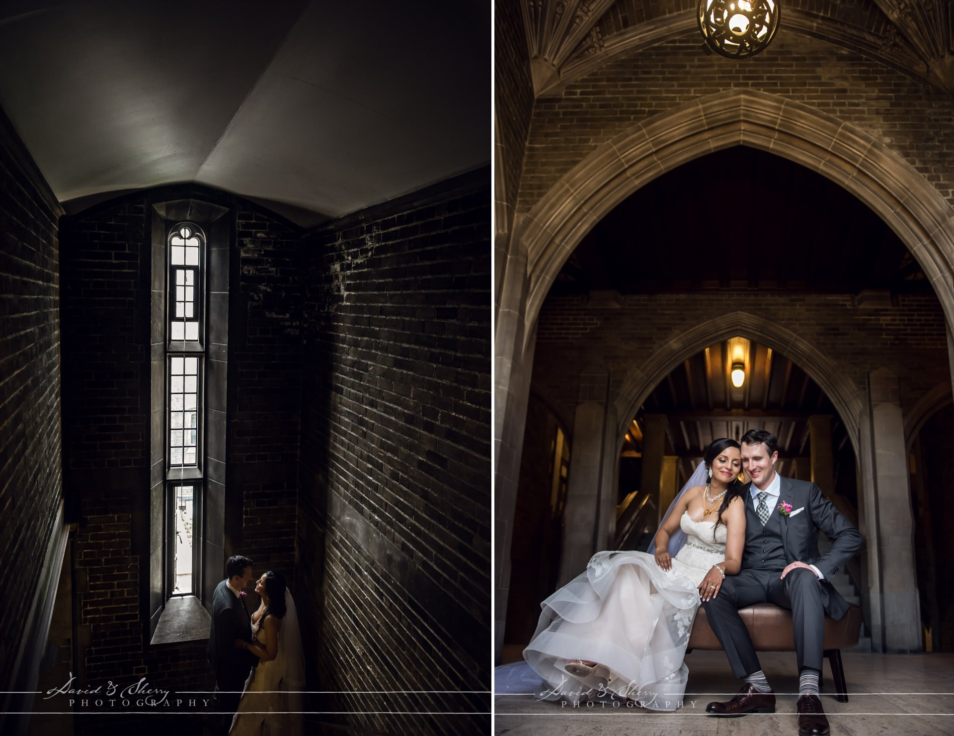 U of T Knox College Wedding Photography