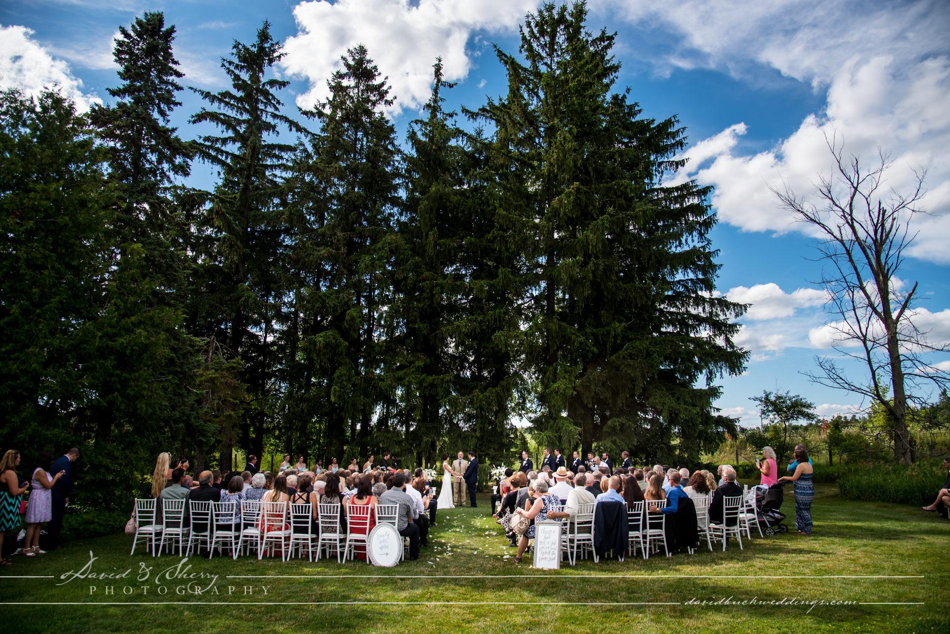 Cambium Farms Wedding Ceremony