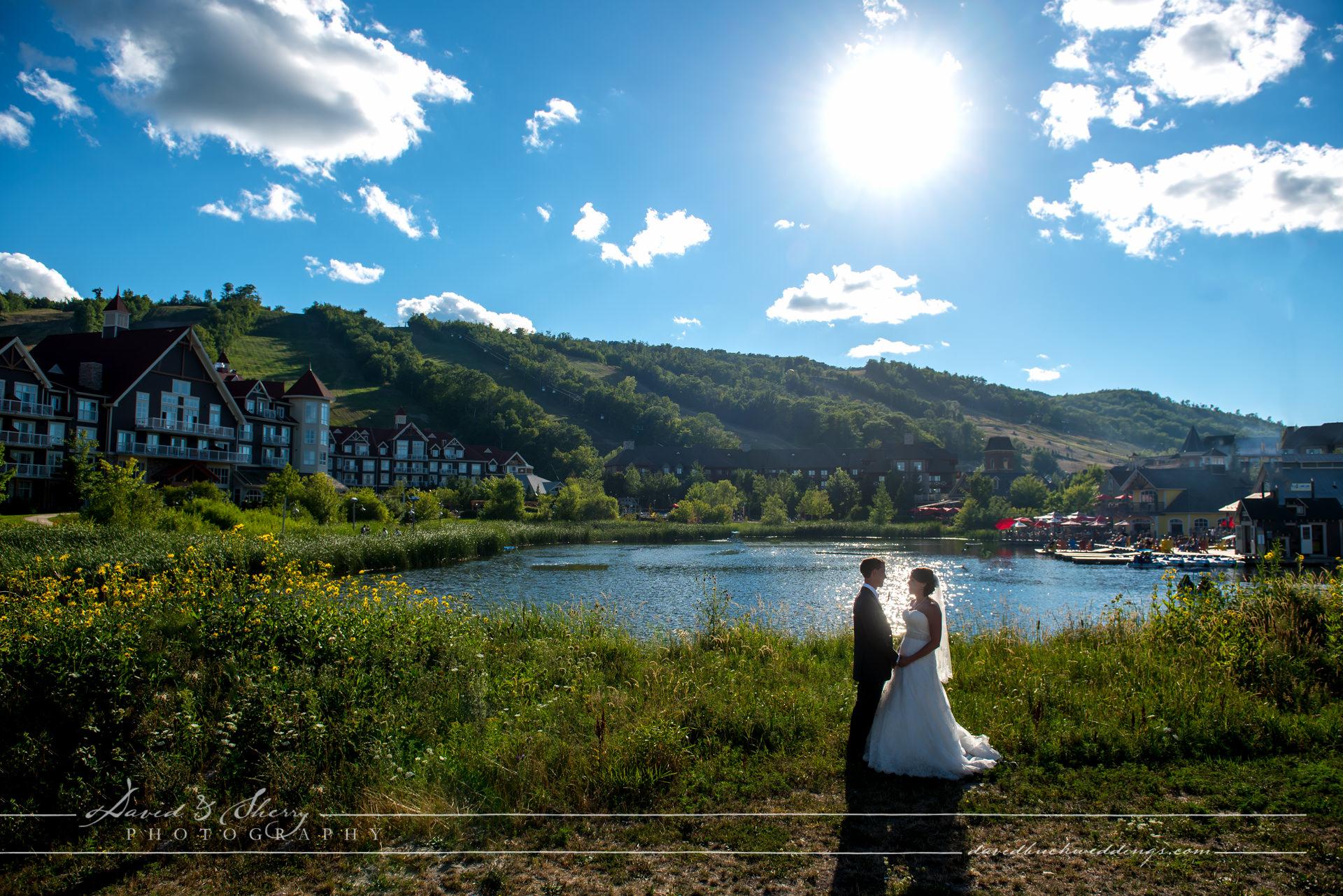 Blue Mountain Village Wedding Photography