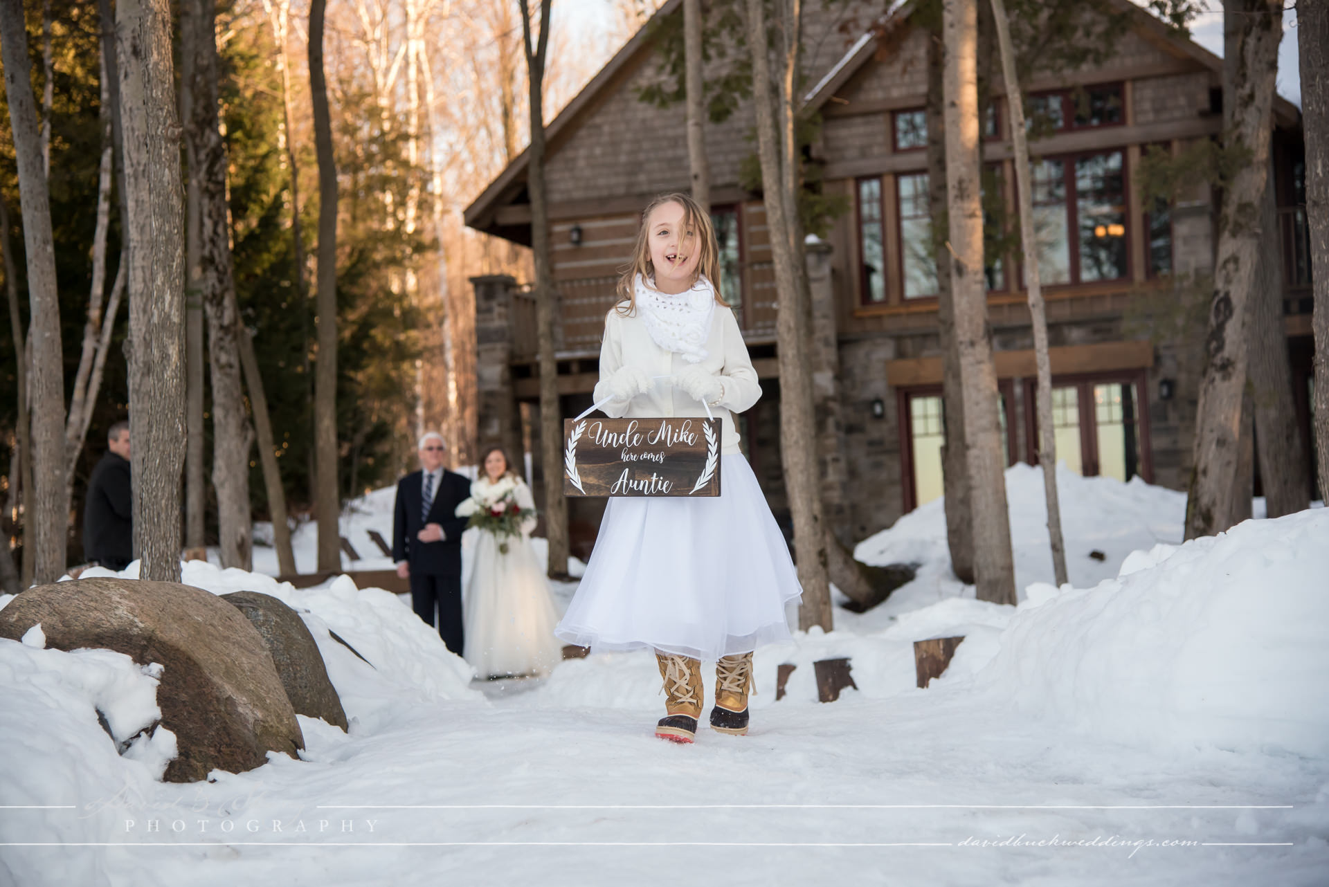 Serenity Cottage Wedding In The Winter In Owen Sound Blog David Amp Sherry Photography