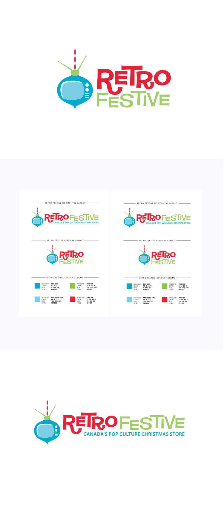 RetroFestive Branding