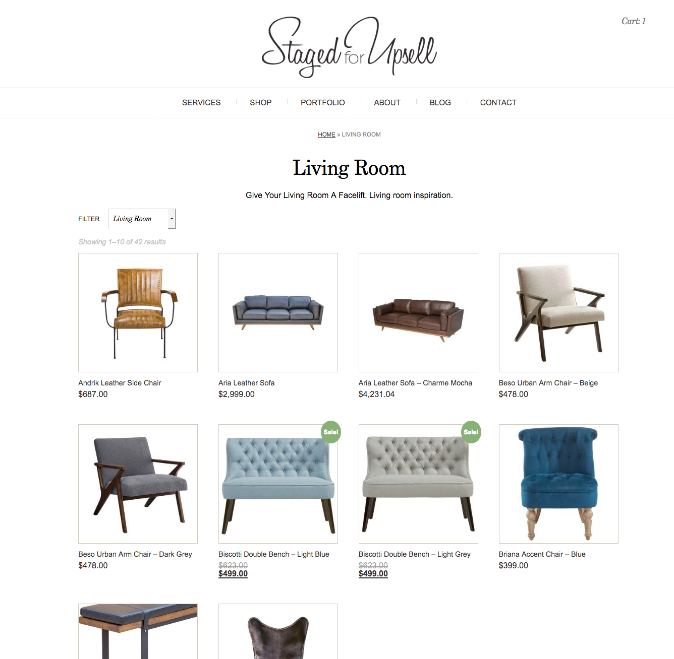 Staged for Upsell Collection Page