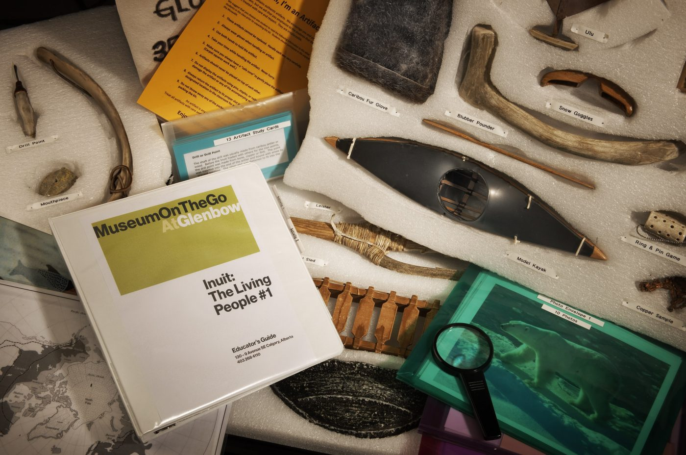 Inuit Museokit contents
