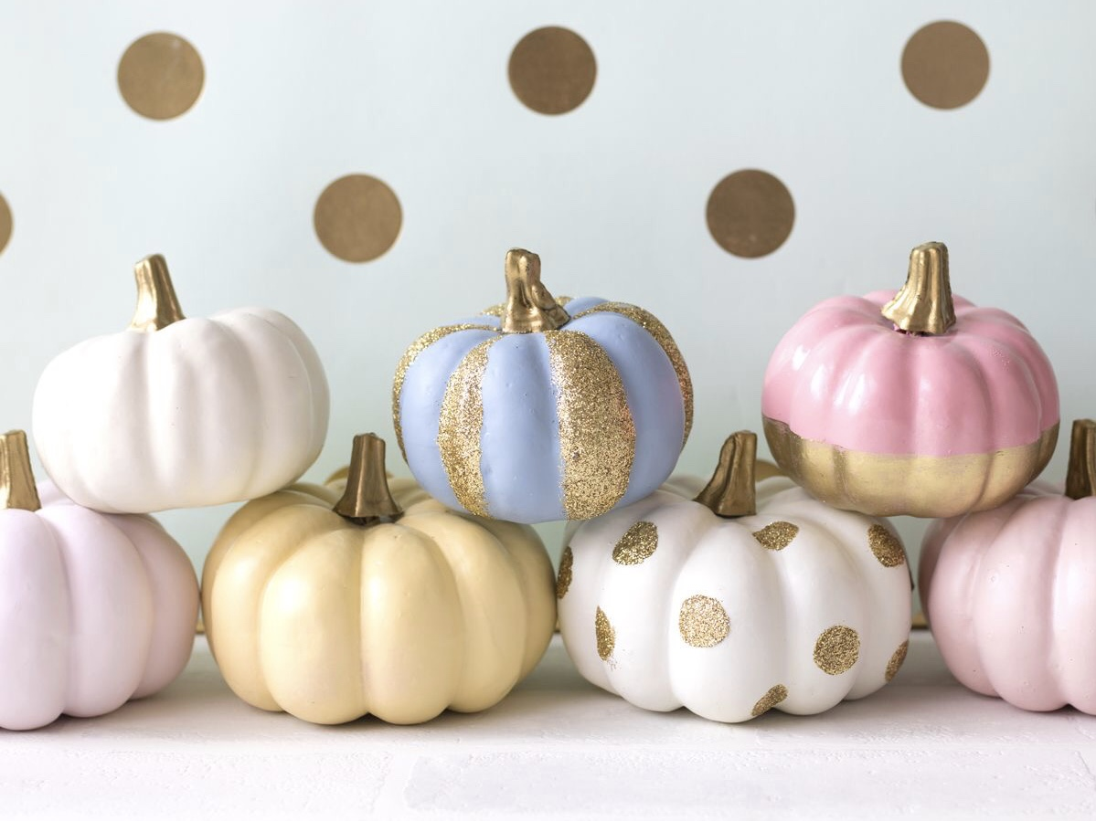 Bitchin'  Painted Pumpkins