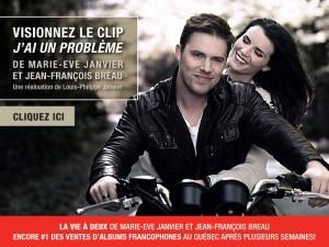 J'ai un problème - Le nouveau vidéoclip de Marie-Eve Janvier et Jean-François Breau!