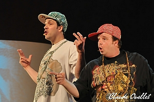"""Ben & Jarold  """"Yo"""" deux rappeurs"""
