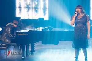 """Mélissa avec sa chanson """"Le coeur est un oiseau"""""""