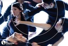 Alan Lake, Brice Noeser, et Arielle Warnke St-Pierre, dans Fluide, une création de Harold Rhéaume et le fils d¹Adrien Danse.