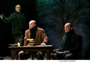Les acteurs livrent une interprétation intense (photo : courtoisie)