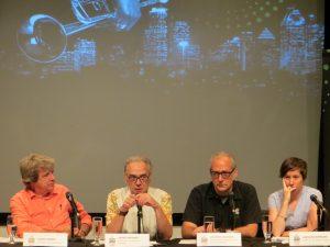 Alain Simard, André Ménard, Alain Saulnier, Caroline Johnson