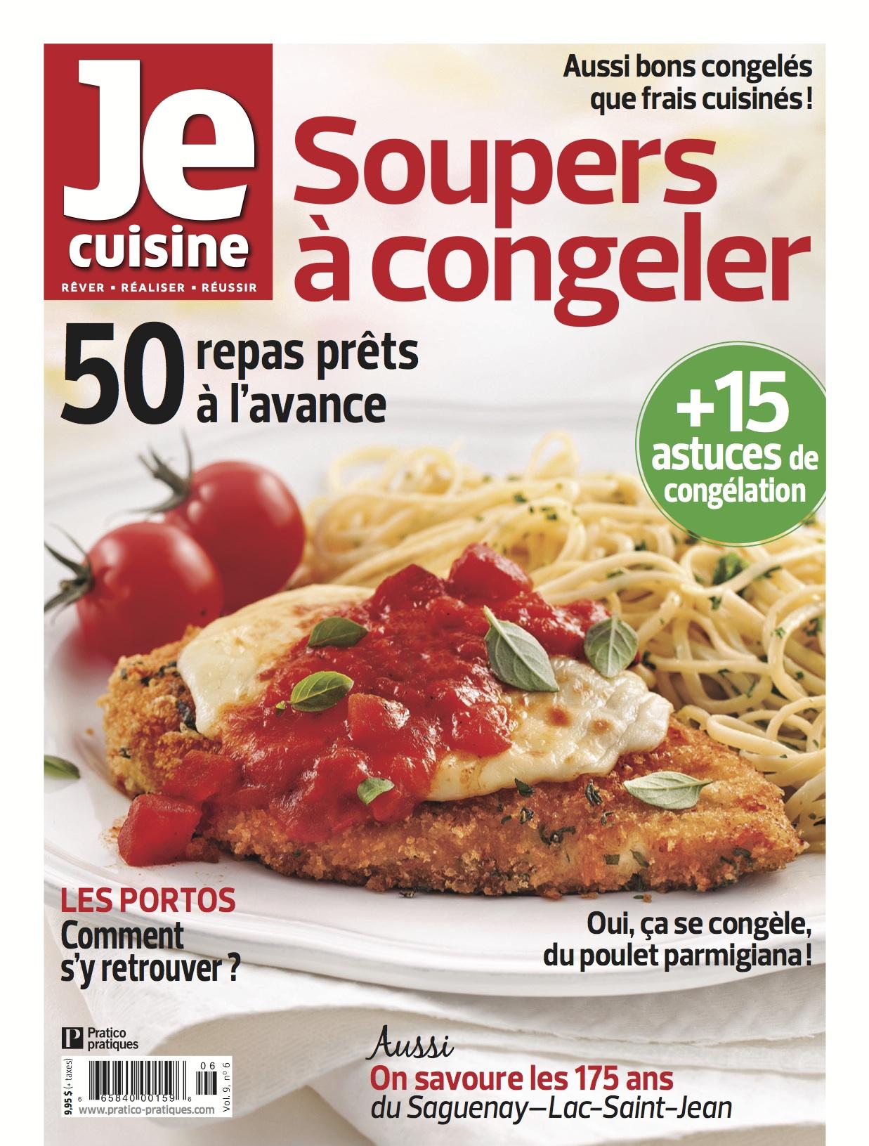 Je cuisine page 4 sur 6 info culture - Plat cuisine a congeler ...