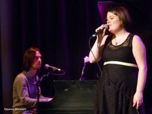 Vincent Gagnon au piano et Marilyne Sauriol