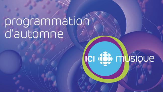 Programmation d'automne-hiver ICI Musique