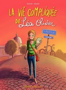 La bande dessinée vie Compliquée de Léa Olivier «Perdue».