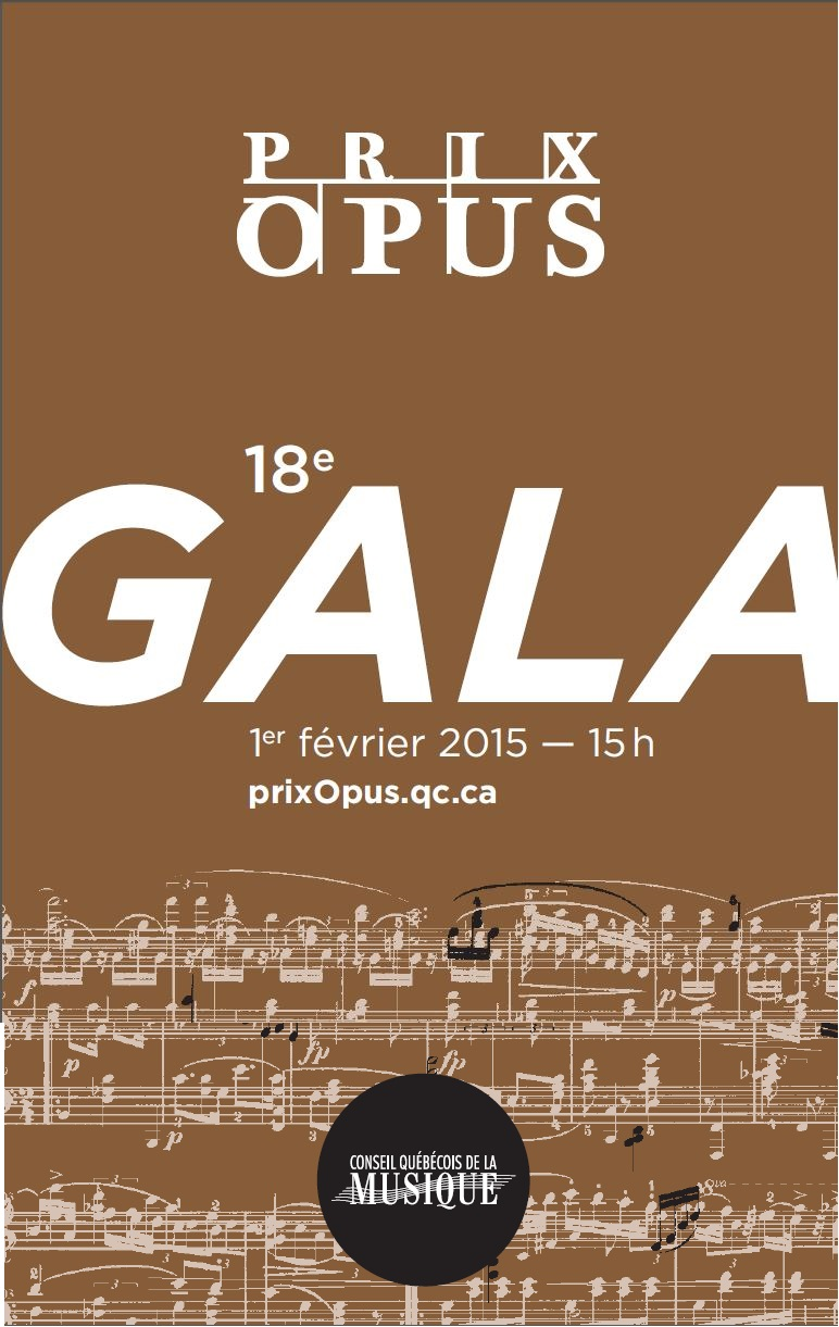 18e édition du Gala des Prix Opus