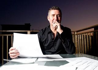 le compositeur Simon Bertrand