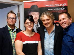 François Audet, Édith Chouinard, Normand D'Amour, Marc Fournier