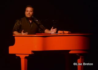 Le piano man Christian Marc Gendron