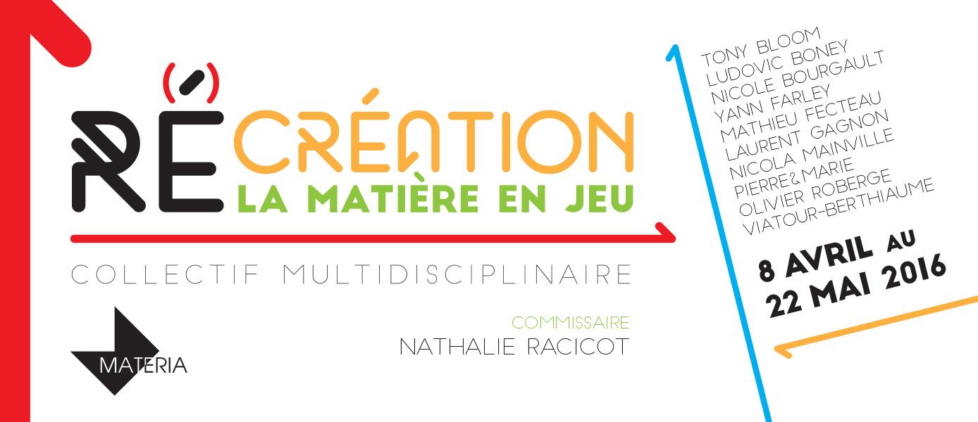 Conférence - Exposition RÉcréation.