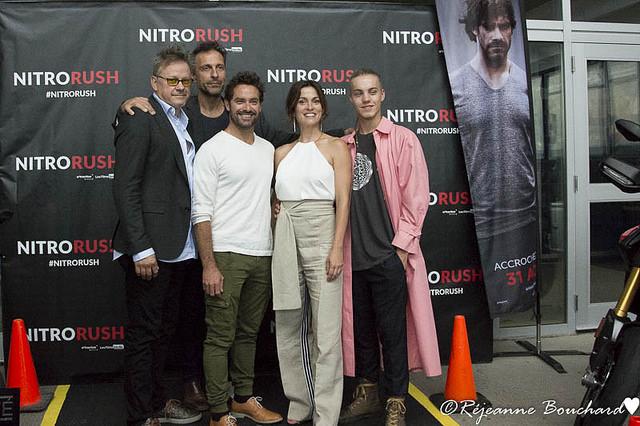 Les artisans du film Nitro Rush