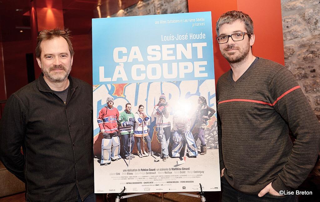Patrice Sauvé et Matthieu Simard