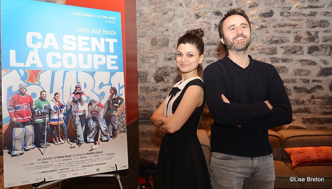 Émilie Bibeau et Louis-José Houde