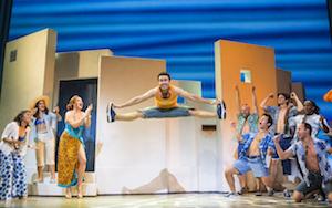 Les danseurs de «Mamma Mia!»