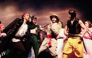 Rencontre entre les pirates et le Major-Général