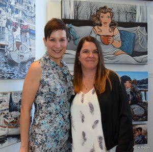 Esther Garneau et Isabelle Desrochers Photo Lise Breton
